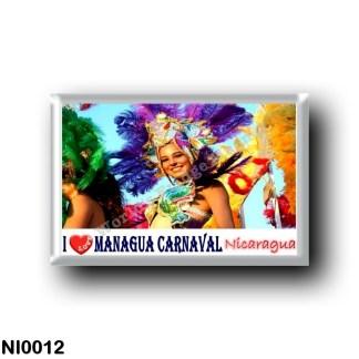 NI0012 America - Nicaragua - Managua - I Love el Carnaval