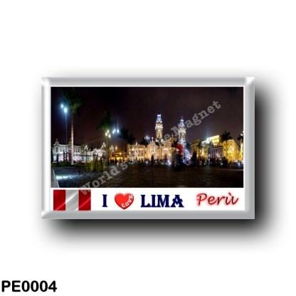 PE0004 America - Peru - Lima - Centro Storico - Patrimonio UNESCO I Love