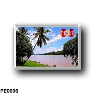 PE0006 America - Peru - Fiume Huallaga - Foresta Peruviana