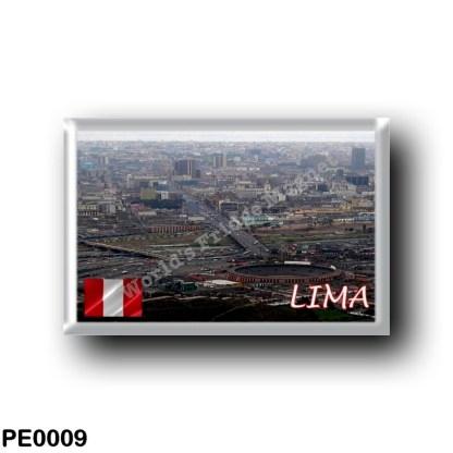 PE0009 America - Peru - Lima Panorama