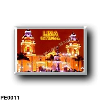 PE0011 America - Peru - Catedral de Lima