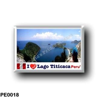 PE0018 America - Peru - Lago Titicaca - I Love