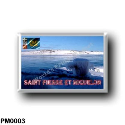 PM0003 America - Saint Pierre and Miquelon - L'hiver