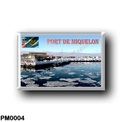 PM0004 America - Saint Pierre and Miquelon - Port de Miquelon