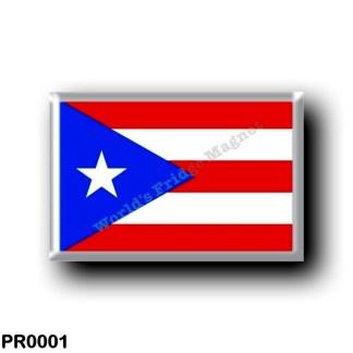 PR0001 America - Puerto Rico - Flag