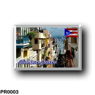 PR0003 America - Puerto Rico - Old San Juan