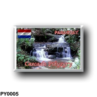 PY0005 America - Paraguay - Cascada Pikysyry