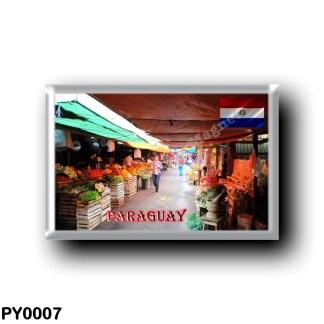 PY0007 America - Paraguay - Mercado
