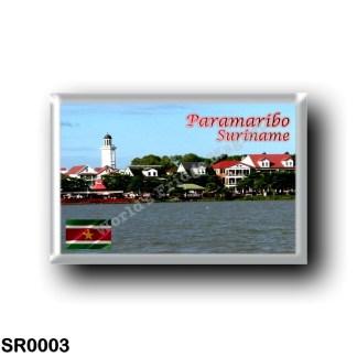 SR0003 America - Suriname - Paramaribo
