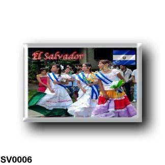 SV0006 America - el Salvador - Fiestas Patrias