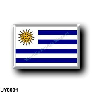 UY0001 America - Uruguay - Uruguayan Flag