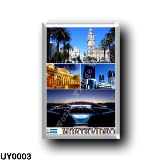 UY0003 America - Uruguay - Montevideo Mosaic