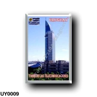 UY0009 America - Uruguay - Torre de Las Telecomunicaciones
