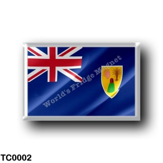 TC0002 America - Turks and Caicos Islands - Flag Waving