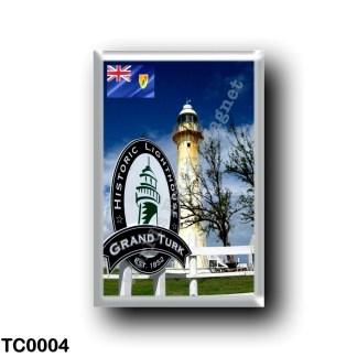 TC0004 America - Turks and Caicos Islands - Gran Turk - Historic Lighthouse Park