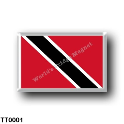 TT0001 America - Trinidad and Tobago - Flag