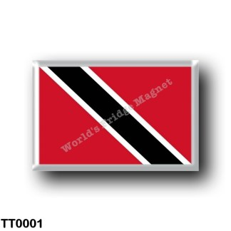 TT0001 America - Trinidad and Tobago - Flag