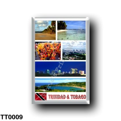 TT0009 America - Trinidad and Tobago - Mosaic