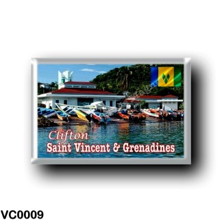 VC0009 America - Saint Vincent and the Grenadines - Clifton Fisheries