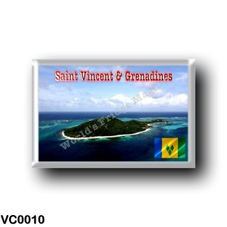 VC0010 America - Saint Vincent and the Grenadines - Petit Saint Vincent Island Resort
