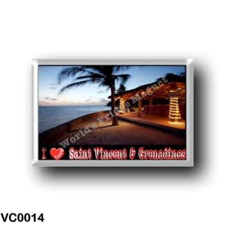 VC0014 America - Saint Vincent and the Grenadines - I Love
