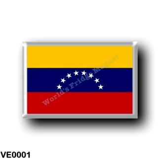 VE0001 America - Venezuela - Venezuelan Flag