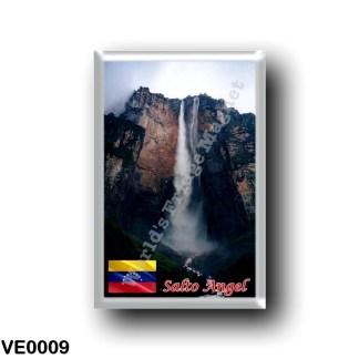 VE0009 America - Venezuela - Salto Angel