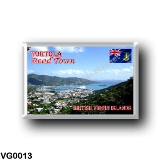 VG0013 America - British Virgin Islands - Tortola - Road Town