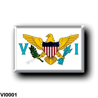 VI0001 America - American Virgin Islands - Flag
