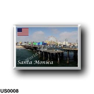 US0008 America - United States - Santa Monica
