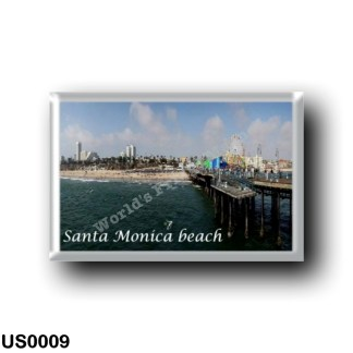 US0009 America - United States - Santa Monica Beach