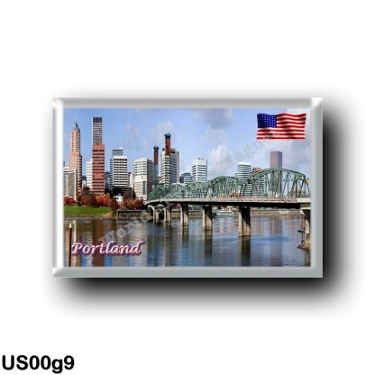 US00g9 America - United States - Oregon - Portland - Panorama