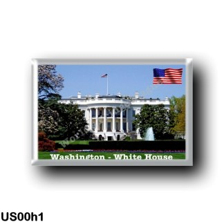 US00h1 America - United States - Washington - White House