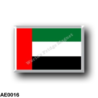 AE0016 Asia - United Arab Emirates - Flag