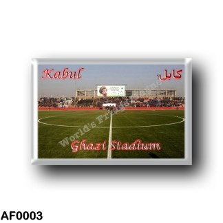 AF0003 Asia - Afghanistan - Kabul - Ghazi Stadium