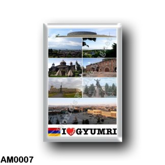 AM0007 Asia - Armenia - Gyumri - I Love
