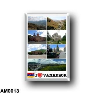 AM0013 Asia - Armenia - Vanadzor - I Love