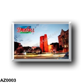 AZ0003 Asia - Azerbaijan - Baku - Maiden tower