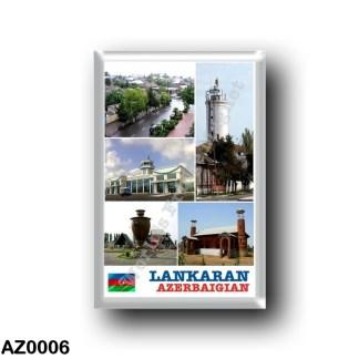 AZ0006 Asia - Azerbaijan - Lankaran - Mosaico