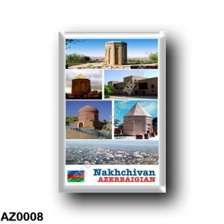AZ0008 Asia - Azerbaijan - Nakhchivan - Mosaico