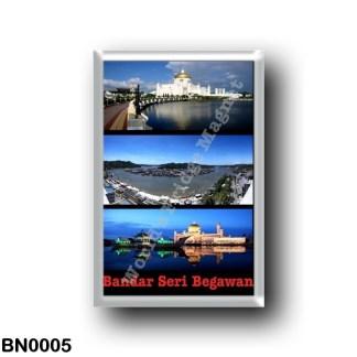 BN0005 Asia - Brunei - Bandar Seri Begawan - Mosaic