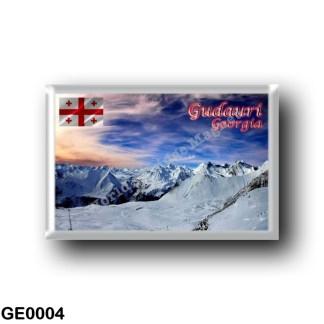 GE0004 Asia - Georgia - Gudauri Georgia Panorama