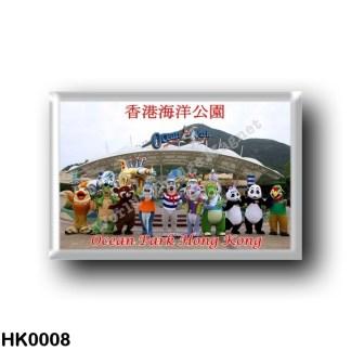 HK0008 Asia - Hong Kong - Ocean Park Hong Kong