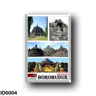 ID0004 Asia - Indonesia - Borobudur - Mosaic