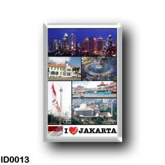 ID0013 Asia - Indonesia - Jakarta - I Love