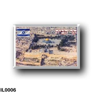 IL0006 Asia - Israel - Jerusalem - Monte del Templo