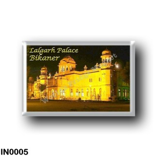 IN0005 Asia - India - Bikaner - Lalgarh Palace