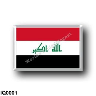 IQ0001 Asia - Iraq - Iraqi flag