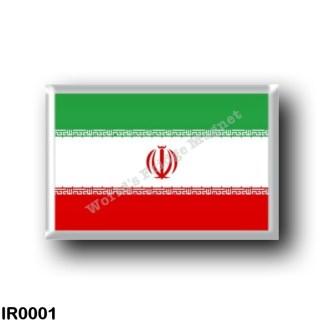 IR0001 Asia - Iran - Iranian flag