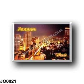 JO0021 Asia - Jordan - Amman Panorama
